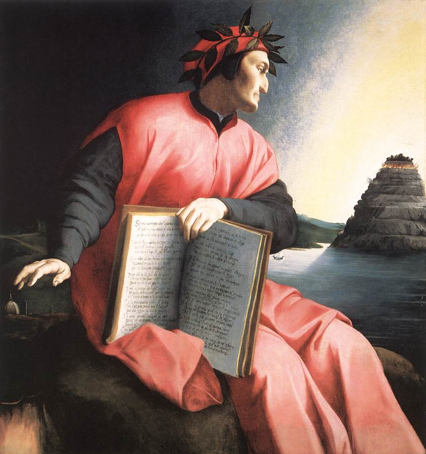 Brozino's Allegorical Portrait of Dante
